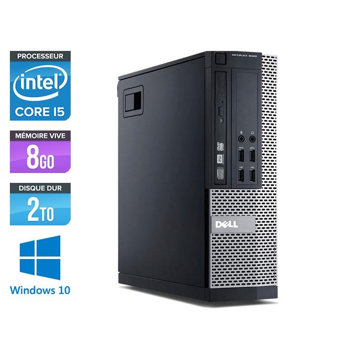 Dell Optiplex 7010 SFF - Core i5 - 8Go - 2To - Windows 10