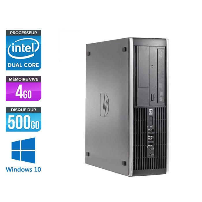 Pc de bureau reconditionné - HP Elite 8300 SFF - G2120 - 4Go - 500Go HDD - Windows 10