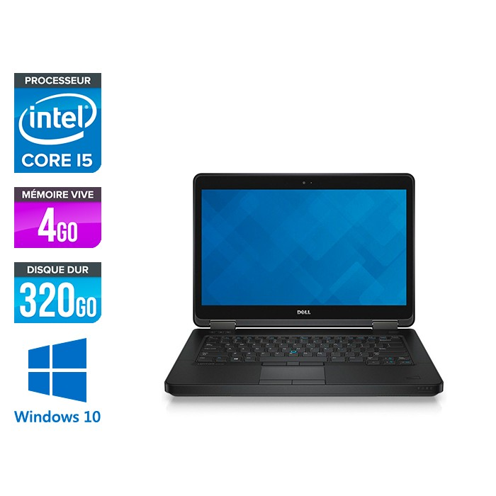 Dell Latitude E5440 - i5 - 4Go - 320Go HDD - Windows 10