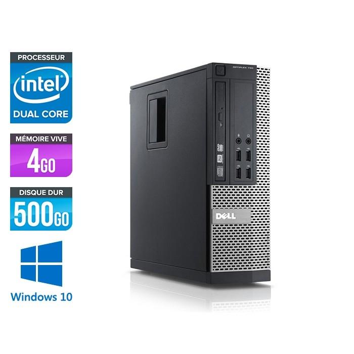 Dell Optiplex 790 SFF - intel G630 - 4Go - 500 Go - Windows 10