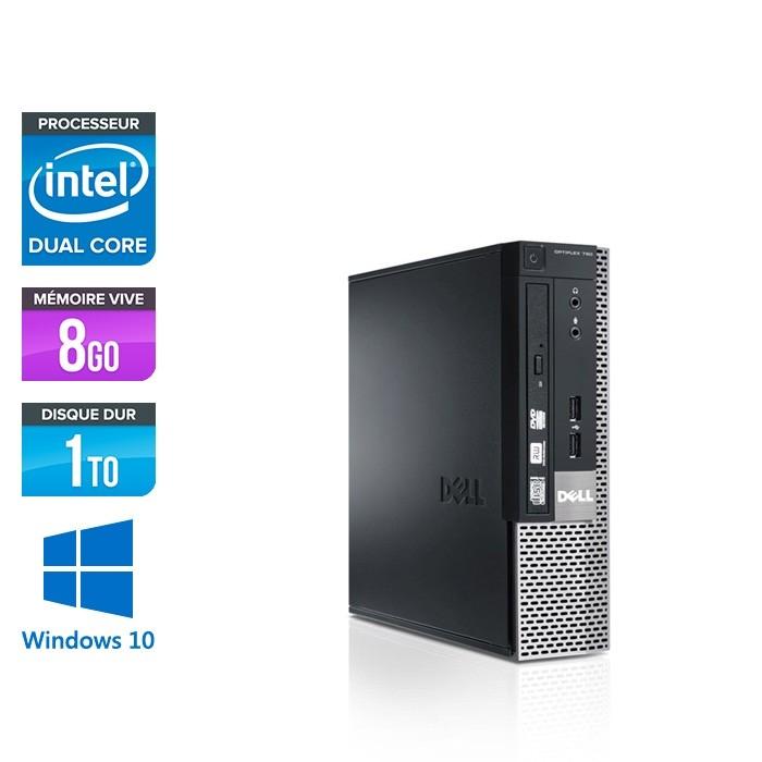Dell Optiplex 790 USFF - G620 - 8Go -1To - Windows 10