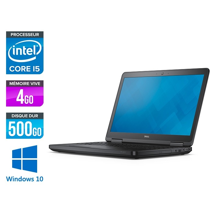 Dell latitude E5540 - i5 - 4Go - 500 Go HDD - Windows 10