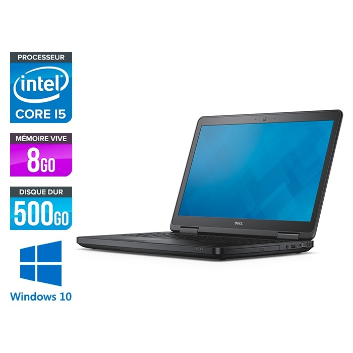 Dell latitude E5540 - i5 - 8 Go - 500 Go HDD - Windows 10