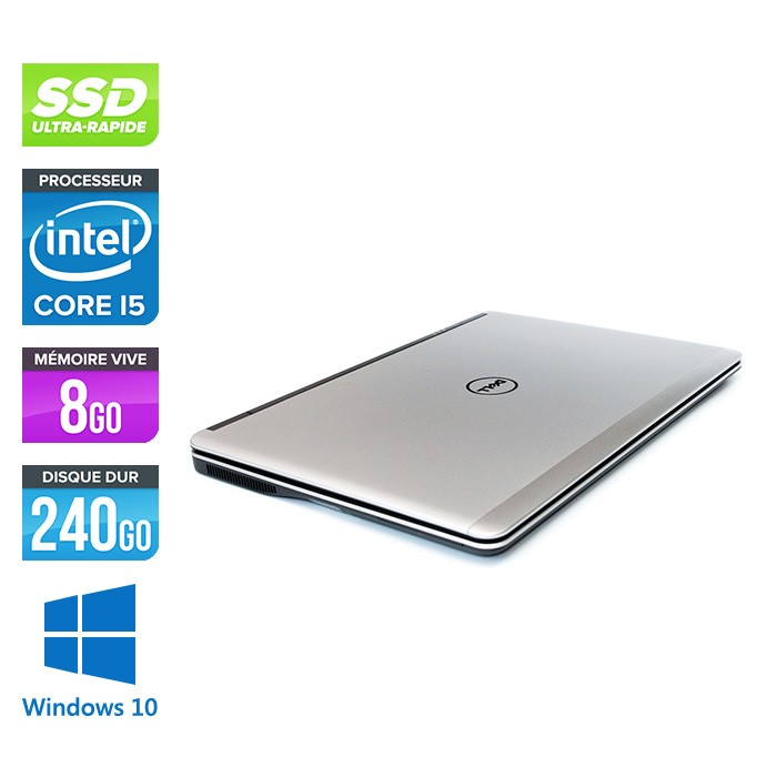 Pc portable - Dell E7440 - Core i5 - 8 Go - 240Go SSD - Webcam - Windows 10