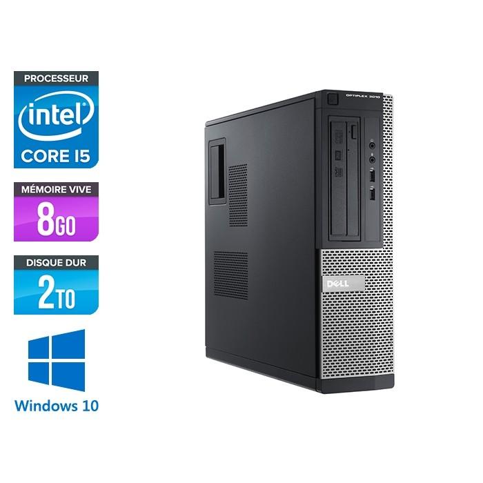 Dell Optiplex 3010 DT - i5 - 8Go - 2To - Windows 10