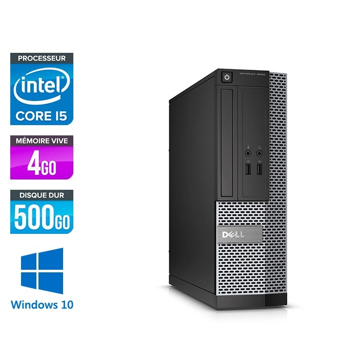 Dell Optiplex 3020 SFF - i5 - 4Go - 500Go - W10
