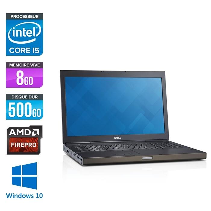 Dell Precision M6800 - i5 - 8Go -500HDD - AMD FirePro M6100 - Windows 10
