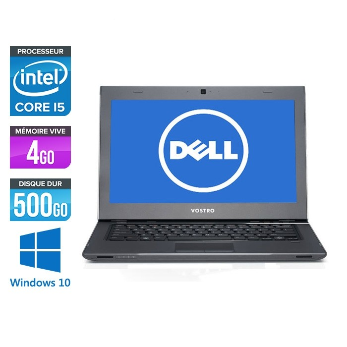 Dell Vostro 3360 - i5-3337U - 4Go - 500Go HHD - windows 10