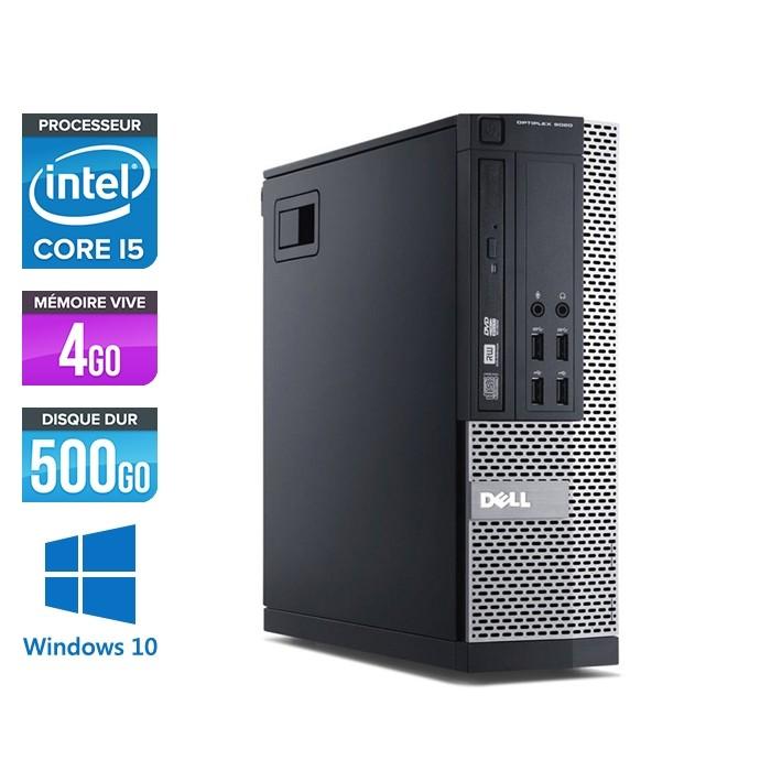 Dell Optiplex 7020 SFF - Core i5 - 4Go - 500Go - Win 10