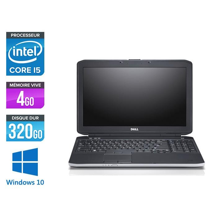 Dell E5530 - i5 -  4Go - 320 Go - 15.6'' - Windows 10