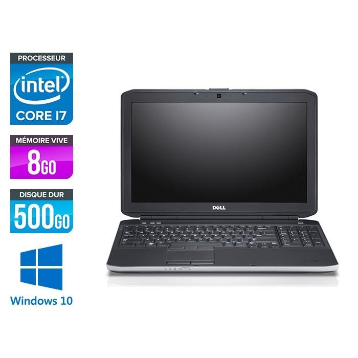Dell E5530 - i7 3520M -  8Go - 500Go HDD - 15.6'' - Windows 10