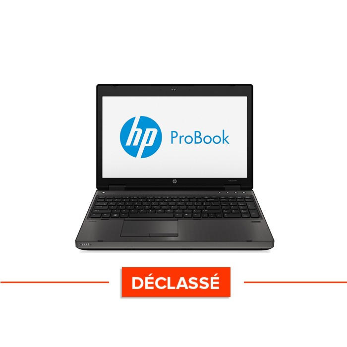 Pc portable - HP ProBook 6570B - Trade Discount - Déclassé - i5 - 8Go - 320 Go HDD - 15.6'' - Windows 10