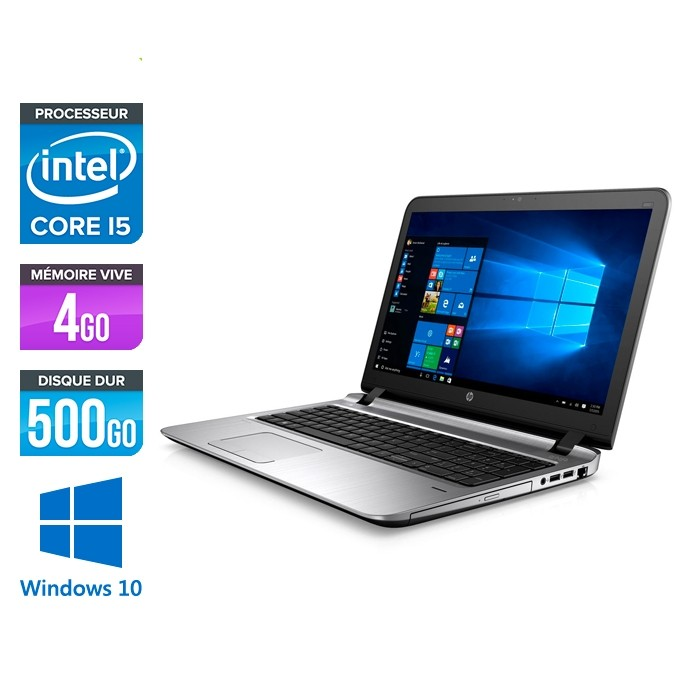 HP 450 G3 - i5 - 4Go - 500Go HDD -15.6'' - Win10