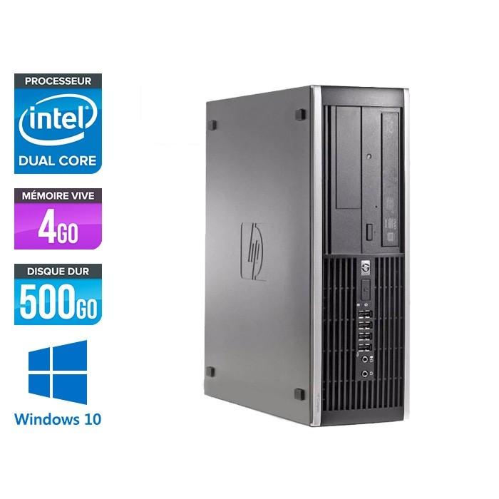 HP 6300 Pro SFF - Pentium - 4 Go- 500 Go HDD - Windows 10