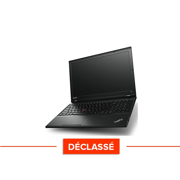 Ordinateur portable - Lenovo ThinkPad L540 - Trade Discount - Déclassé - i5 - 4Go - 500Go HDD - sans webcam - Windows 10