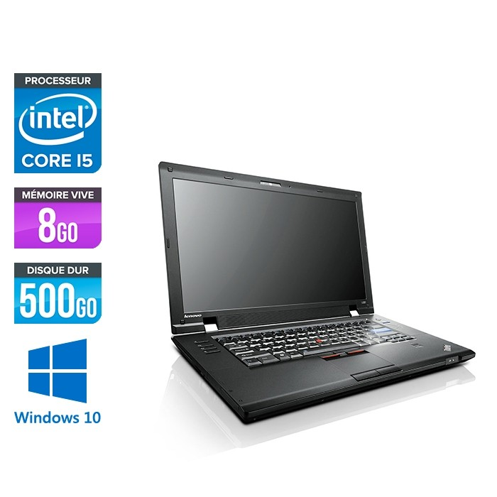 Lenovo ThinkPad L520 - Core i5 - 8Go - 500 Go HDD - Windows 10