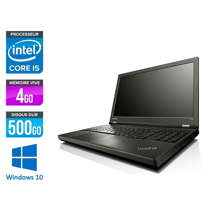 Lenovo ThinkPad T540P - i5 - 4Go - 500Go - Windows 10