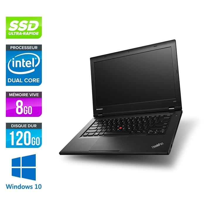 Lenovo L440 -  Celeron 2950M - 8Go - 120Go SSD - Windows 10 home