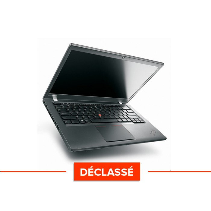 Pc portable - Lenovo ThinkPad T440 - Trade Discount - déclassé - i5 4300U - 4Go - 500GO HDD - HD - Webcam - Windows 10