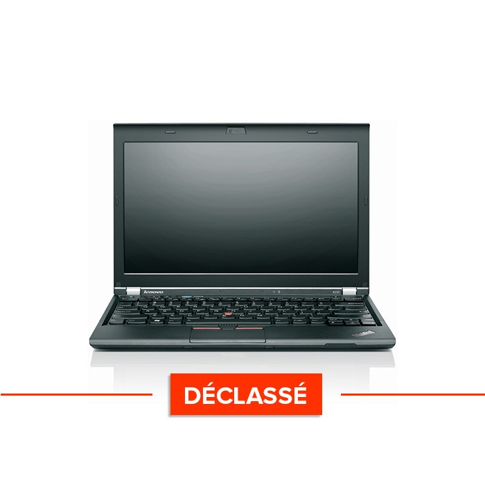 Pc portable reconditionné - Lenovo ThinkPad X230 - Déclassé - i5-3320M - 8Go - 120Go SSD - Windows 10 Famille