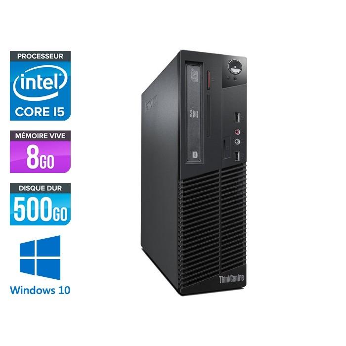 Lenovo ThinkCentre M72E SFF - Core i5 - 8Go - 500Go - Windows 10