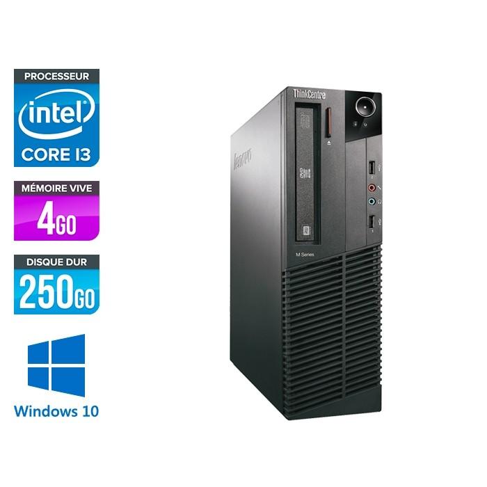 Lenovo ThinkCentre M81 SFF - i3 - 4Go - 500Go - WIndows 10
