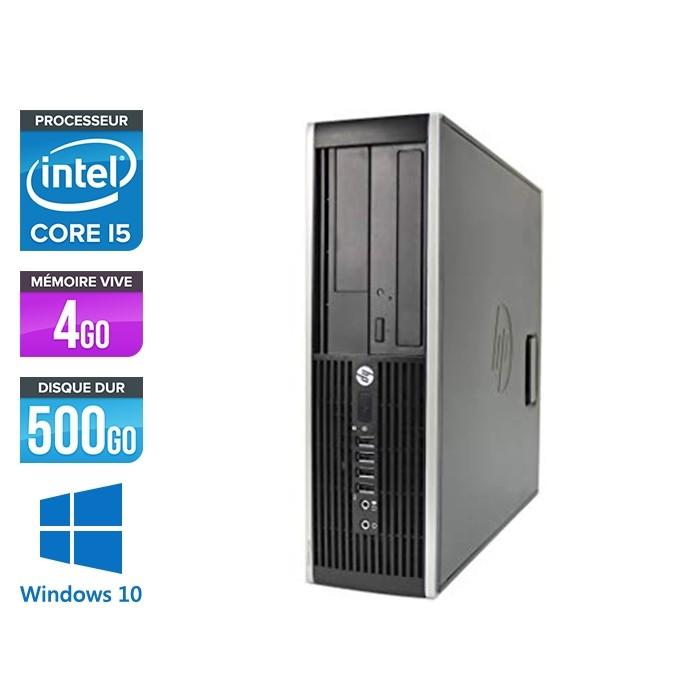 Pc de bureau professionnel reconditionné - HP 8300 SFF - Intel i5-3470 - 4Go - 500Go HDD - Windows 10
