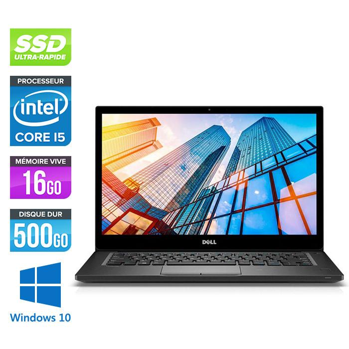 Pc portable reconditionné - Dell 7490 - Core i5 - 16 Go - 500Go SSD - Windows 10