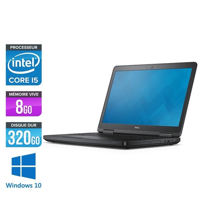 Pc portable reconditionné - Dell Latitude E5540 - i5 - 8 Go - 320Go HDD - Windows 10 Famille