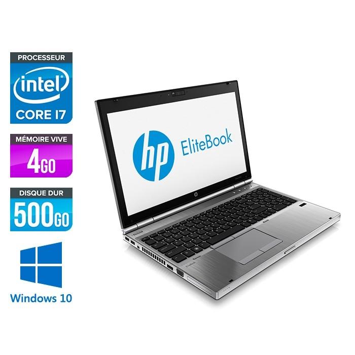 HP EliteBook 8570P - i5 - 4Go - 500Go HDD - AMD 7570M - Windows 10