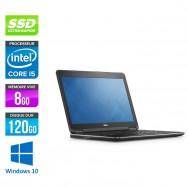 Dell Latitude E7250 - i5 - 8Go - 120Go SSD - Windows 10