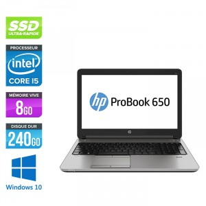 HP Probook 650 G1 - Windows 10