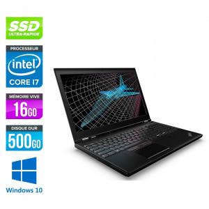 Lenovo ThinkPad P51 - Windows 10