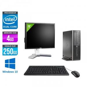 HP 6300 Pro SFF + Ecran 19'' - Windows 10