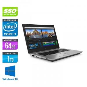 HP Zbook 17 G5 - Windows 10