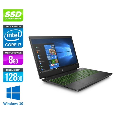Intel Core i7-8750H 2.20GHz / 8Go RAM DDR4 / SSD 128Go NVMe + 1To HDD / Nvidia GTX 1060 / 15.6'' Full-HD / Webcam / WiFi / Windows 10 Famille