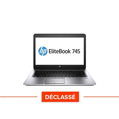 pc portable - HP-Elitebook 745 G2 - trade discount - déclassé