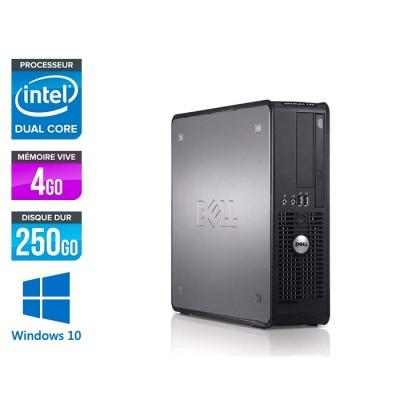 Dell Optiplex 780 SFF - E5300 - 4Go - 250Go - Windows 10