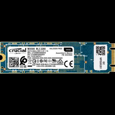 SSD Crucial MX500 - 250Go - M.2 2280-