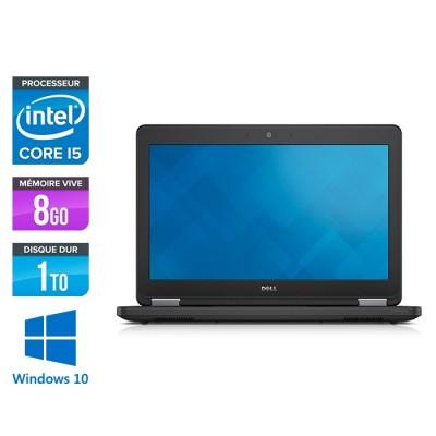 Dell Latitude E5250 - i5 - 8Go - 1To HDD - Windows 10