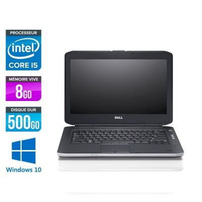 Dell Latitude E5430 - i5 - 8Go - 500Go - Windows 10