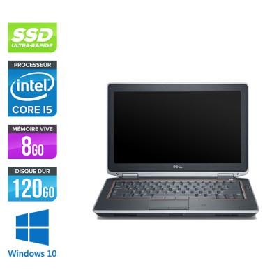 Pc portable reconditionné - Dell Latitude E6320 -  i5 - 8Go - 120Go SSD - Windows 10