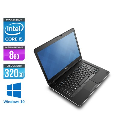 Dell Latitude E6440 - i5 - 8Go - 320Go HDD - Windows 10 home