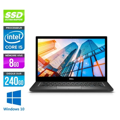 Dell Latitude 7390 reconditionne - i5 - 8Go - 240Go SSD - Windows 10