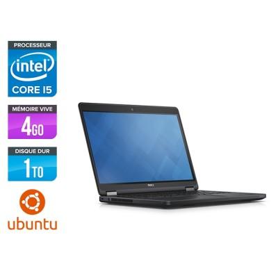 Dell Latitude E5450 - i5 - 4Go - 1To HDD - Linux