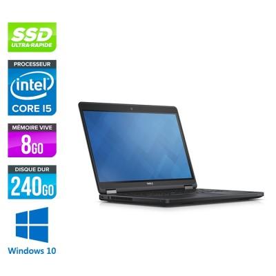 Dell Latitude E5450 - i5 - 8Go - 240 Go SSD - Windows 10