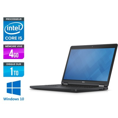 Dell Latitude E5550 - i5 - 8Go - 500 Go SSHD - Windows 10