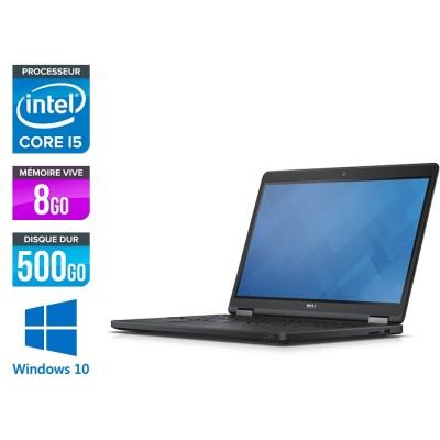 Dell Latitude E5550 - i5 - 8Go - 500 Go SSHD - Windows 10