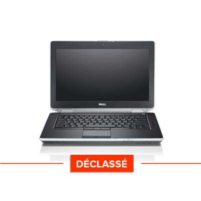 Pc portable - Dell Latitude E6420 Trade Discount - Déclassé - i5 - 4 Go - 320 Go HDD - Sans webcam - Windows 10 Famille