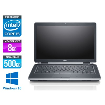 Dell E6430S - intel i5 - 8Go - 500 Go HDD - Windows 10